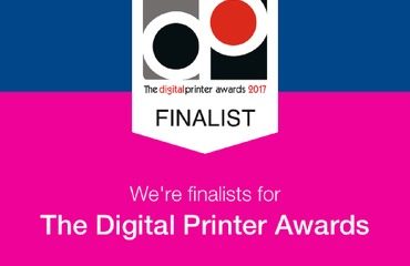 We made the Digital Printer Awards Shortlist