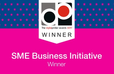 Northside win DigitalPrinter 2017 SME Business Initiative Award