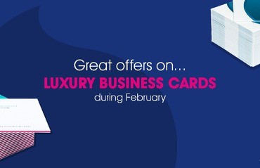 February offers on Luxury Business Cards